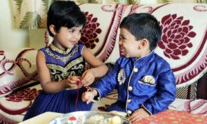 India celebrating Raksha Bandhan