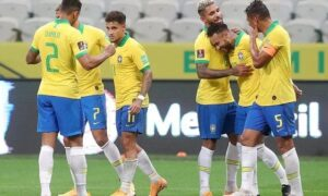 brazil started their world cup qualifiers with a bang, thrashed bolivia 5-0