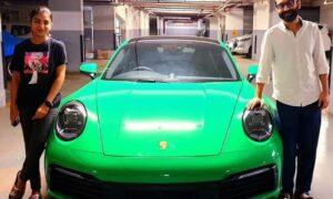 fahad fazil and his wife nazriya owns new porsche 911 carrera s