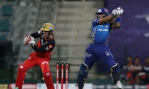 mumbai indians beats royal challengers bangalore to become the first team in ipl 2020 playoffs