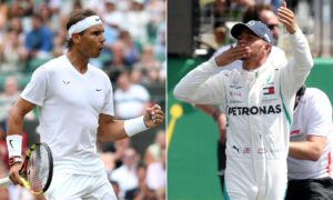 rapheal nadal in tennis and louis hamilton in formula one championship sets new records